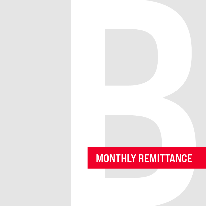 Monthly Remittance - Gillespie Lowe